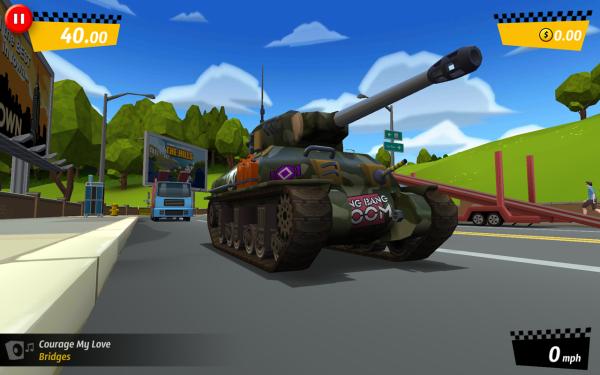 City Rush Tank