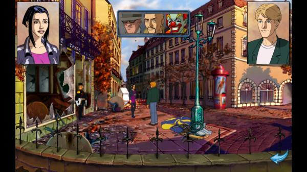 Broken Sword - Cafe