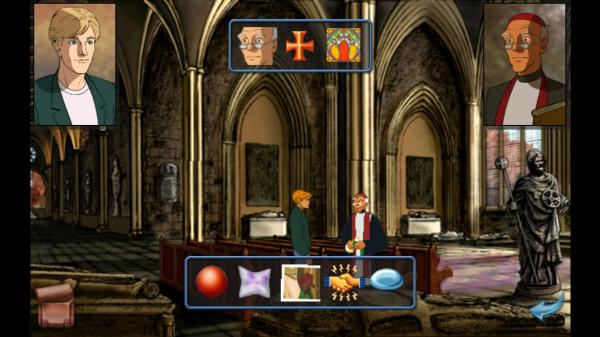 Broken Sword - George & Priest