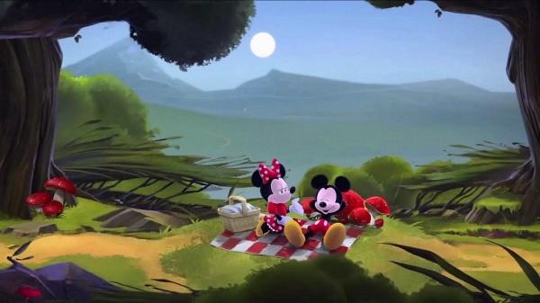 Castle - Mickey & Minnie