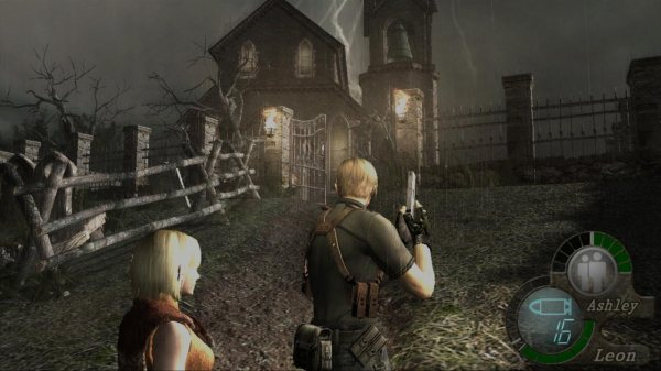 RE4 - Ashley Protect