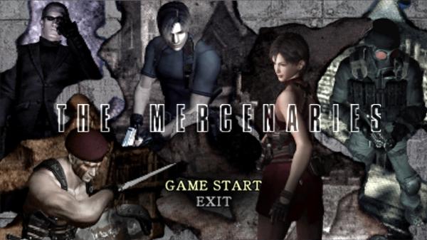 RE4 - The Mercenaries