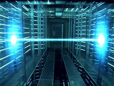 Resident Evil - Laser Scene