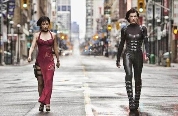 Resident Evil Retribution - Alice & Ada