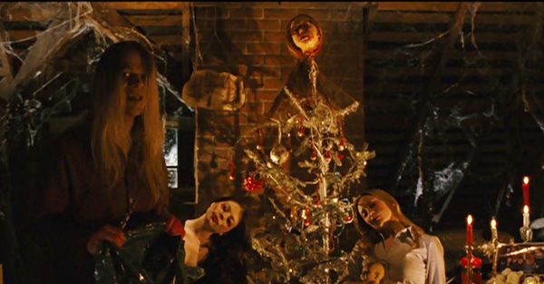 black christmas 2006 agnes christmas tree bodies ending - Black Christmas Movie
