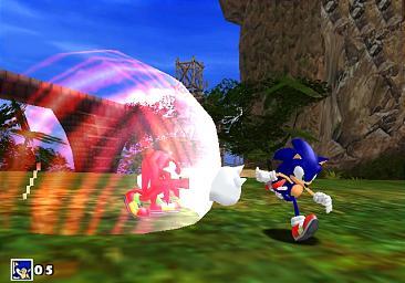 Sonic vs Knuckes