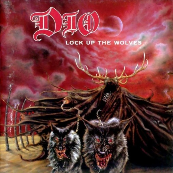 Dio - Lock Up The Wolves - Front