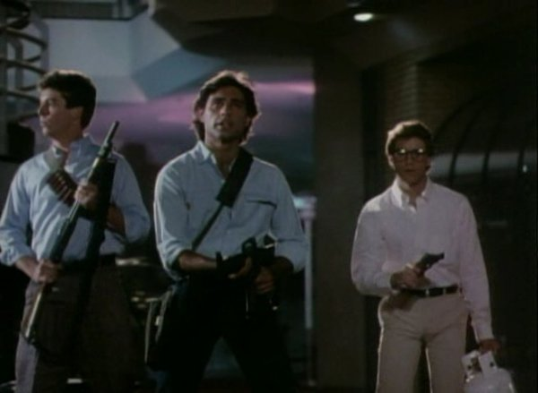 Chopping Mall Guns