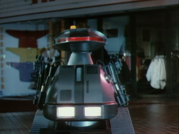 Chopping Mall Robot