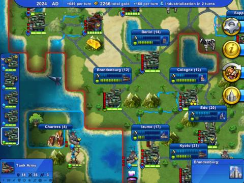 Civ Rev - Screenshot 1