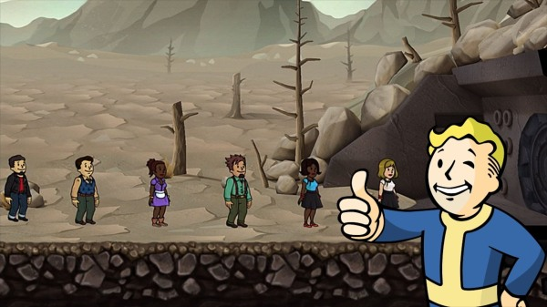 Fallout Shelter Outsiders