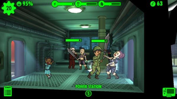 Fallout Shelter Raider Attack