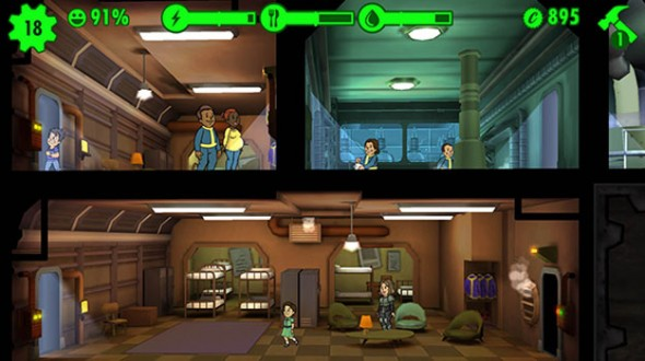 Fallout Shelter Rooms 2