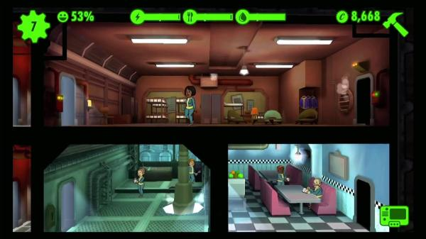 Fallout Shelter Rooms
