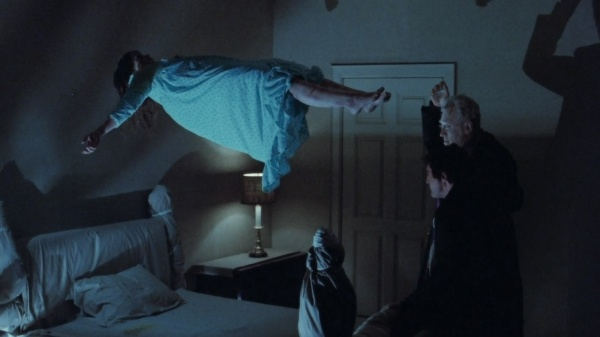 The Exorcist Regan Hovers