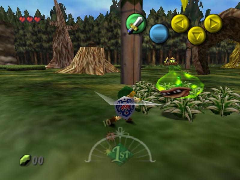majoras mask game n64
