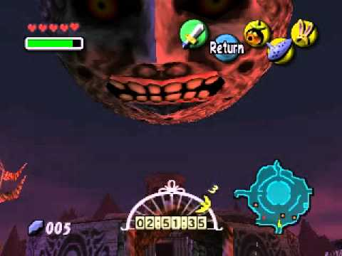 Majora's Mask Final Night