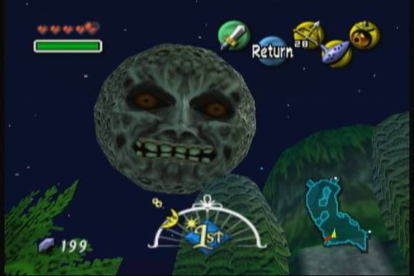 Majora's Mask The Moon