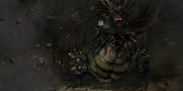 Dark Souls - The Asylum Demon