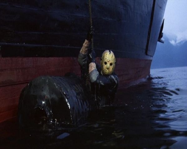 Friday the 13th 8 Jason Stowing Away
