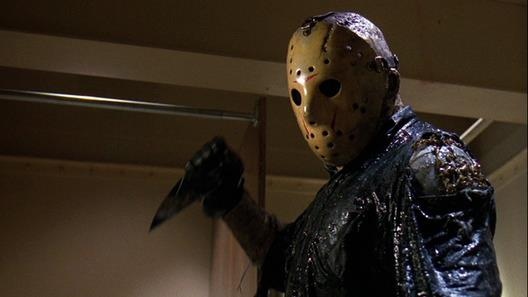 Friday the 13th 8 - Jason with glass