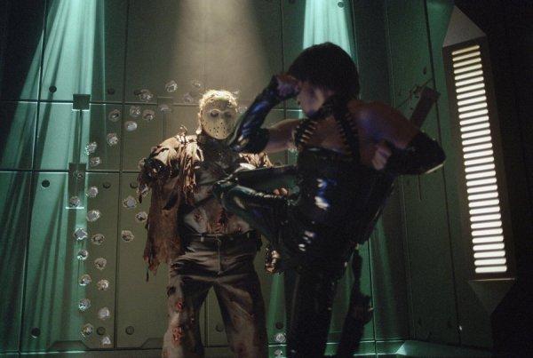 Jason X - Robot Fight