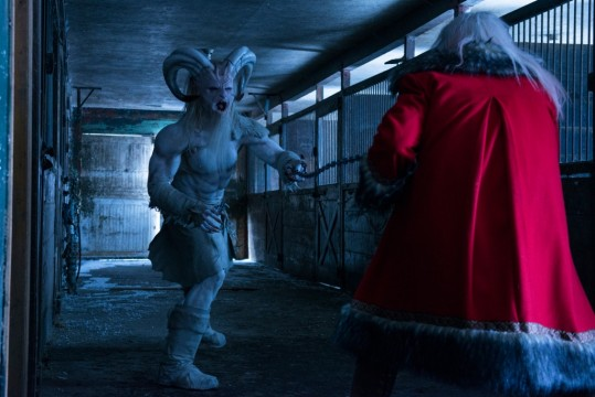 A Christmas Horror Story Krampus vs Santa