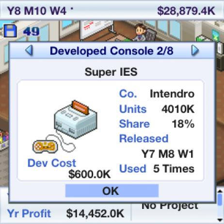 Game Dev Story 1