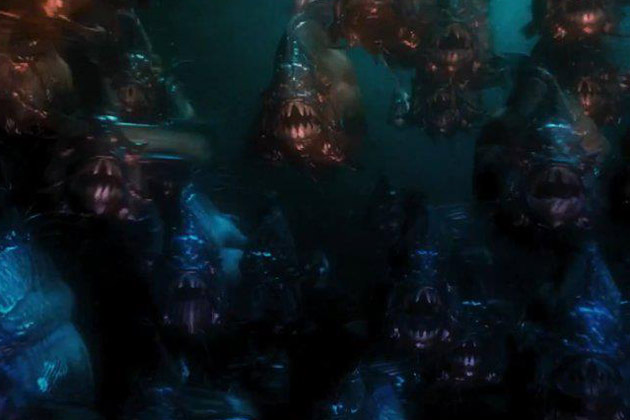 Horror Movie Review: Piranha 3DD (2012) - Games, Brrraaains & A Head