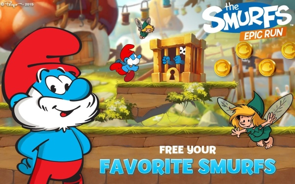 The Smurfs Epic Run 2