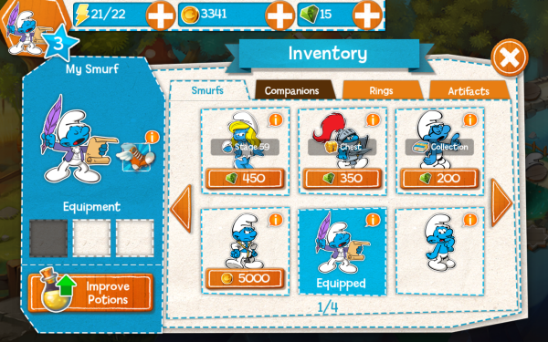 The Smurfs Epic Run 7