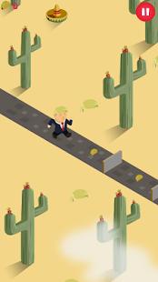 Trump on the Run Pic 1